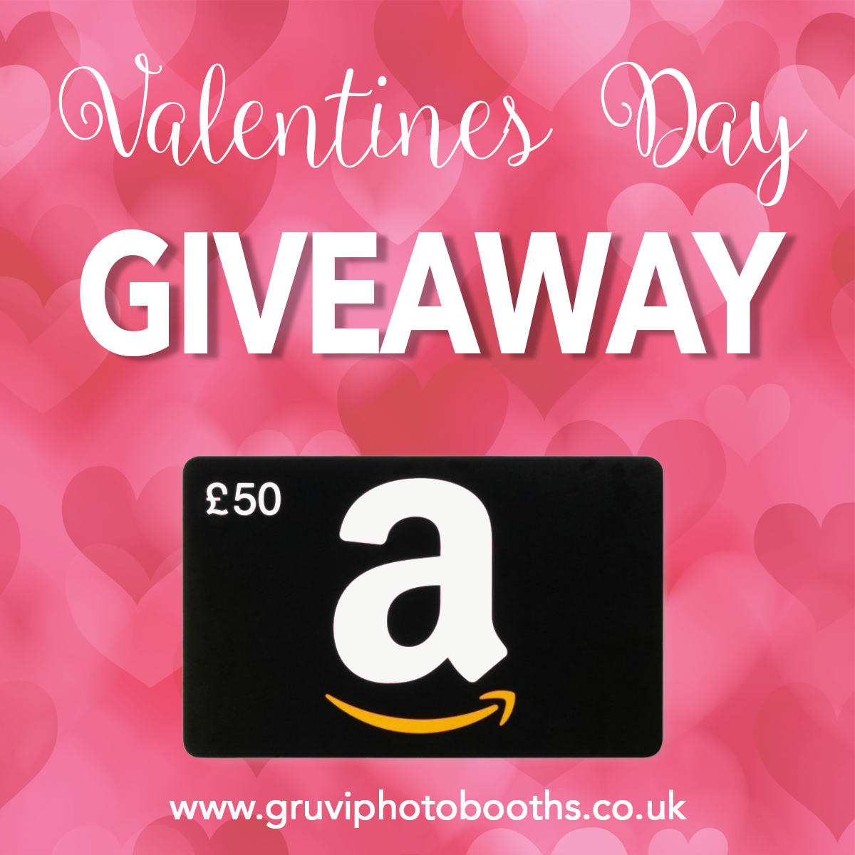 Win with Gruvi Photo Booths
